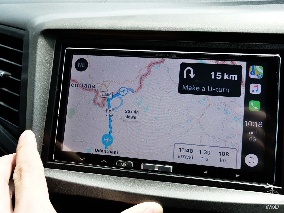 Apple Maps Carplay Thailand Available 4025