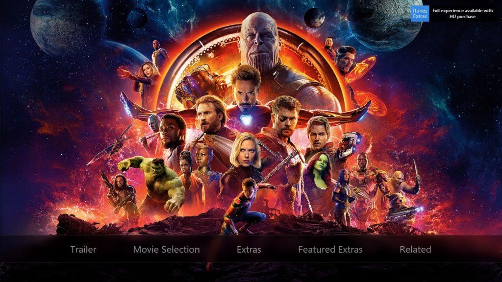 Avenger 3 Infinity War Preorder Itunes 1