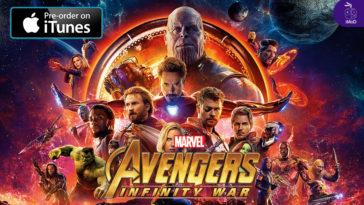 Avenger 3 Infinity War Preorder Itunes