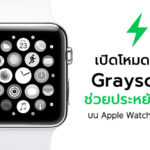 Enable Grayscale Apple Wath Save Battery Cover