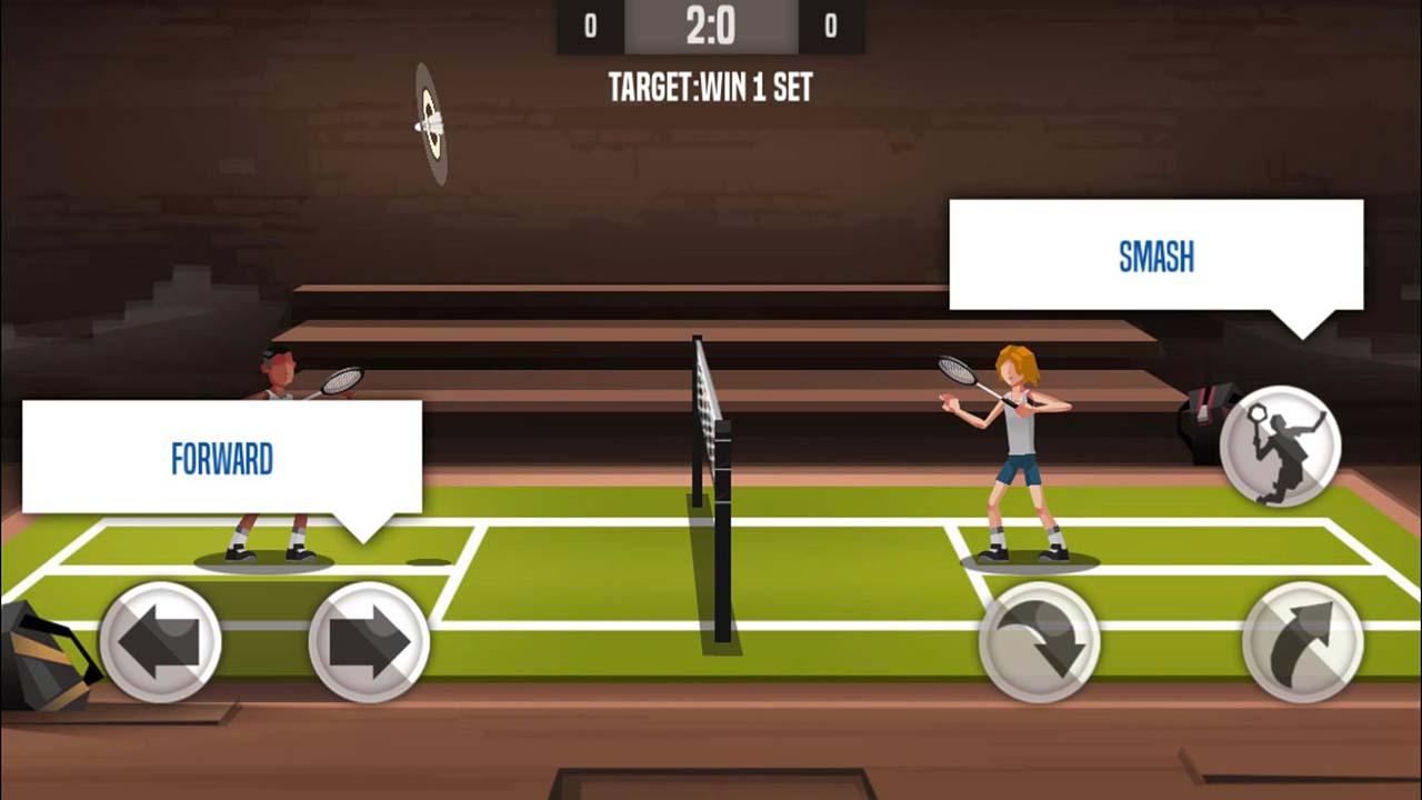 Game Badminton League Control2