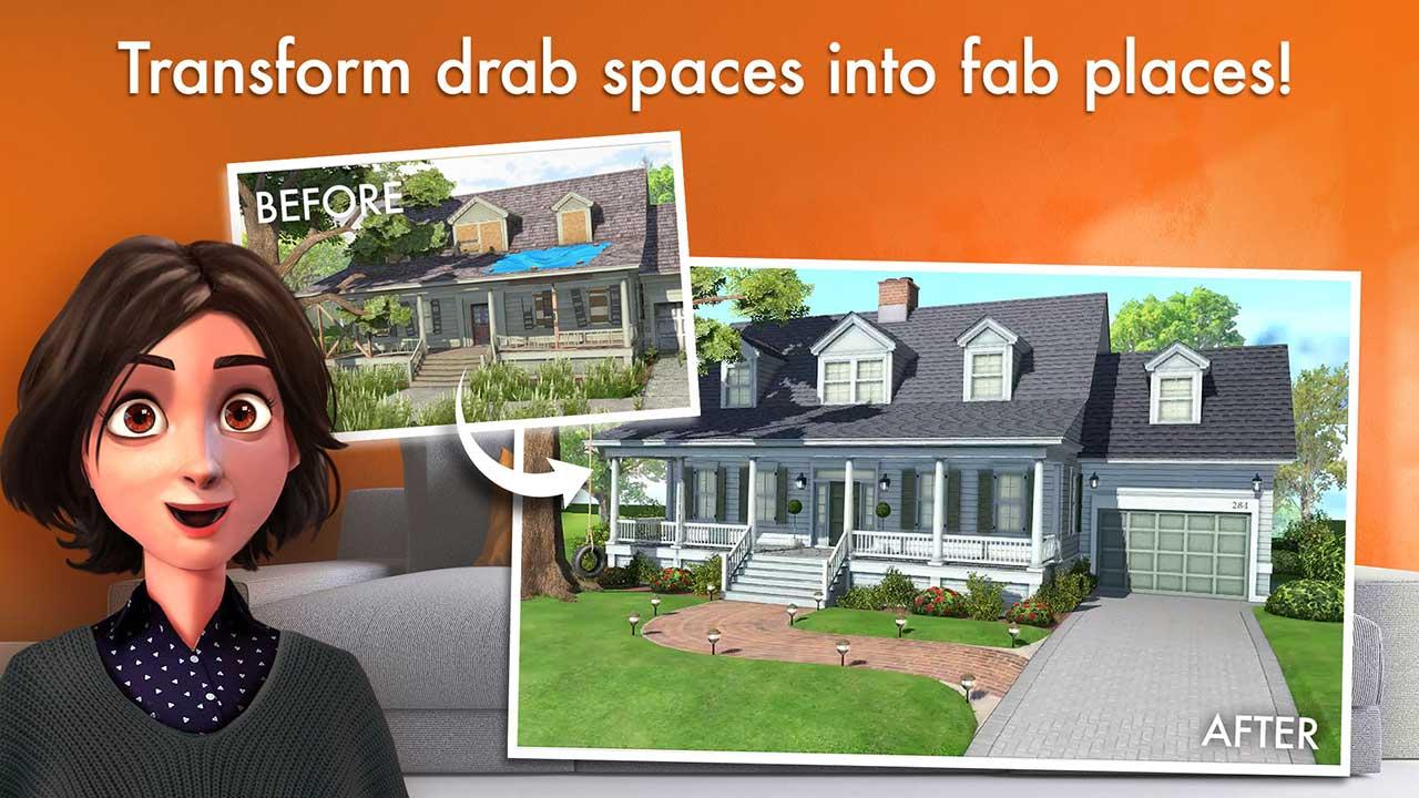 โหลดฟรี Home Design Makeover เกมแต่งบ้านแสนสนุกอย่างมี