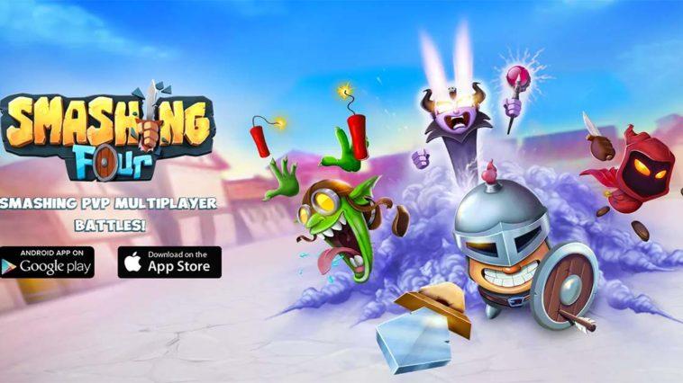 Game Smashing Four Cover