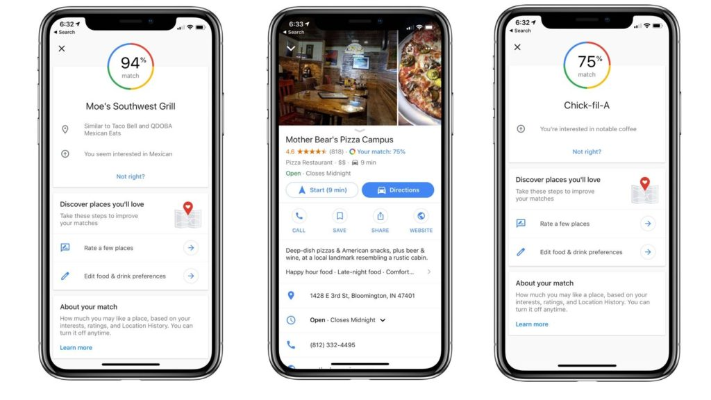 Google Maps New Update Match For Ios 1