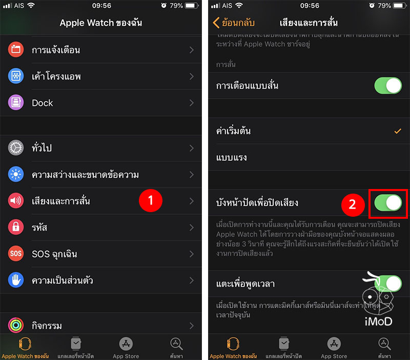 How To Enable Cover To Mute Apple Watch 3