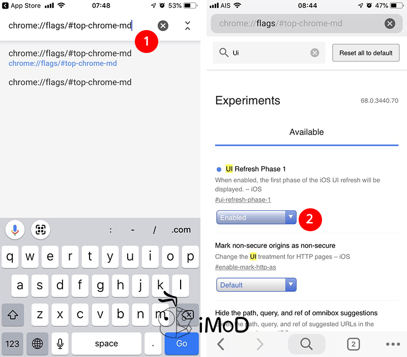 How To Enable Test Material Design Chrome Ios Desktop 1