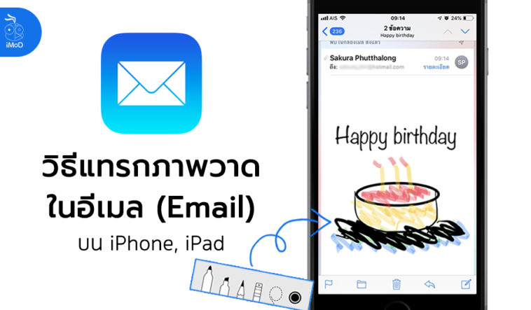 How To Insert Drawing In Mail Ios 11