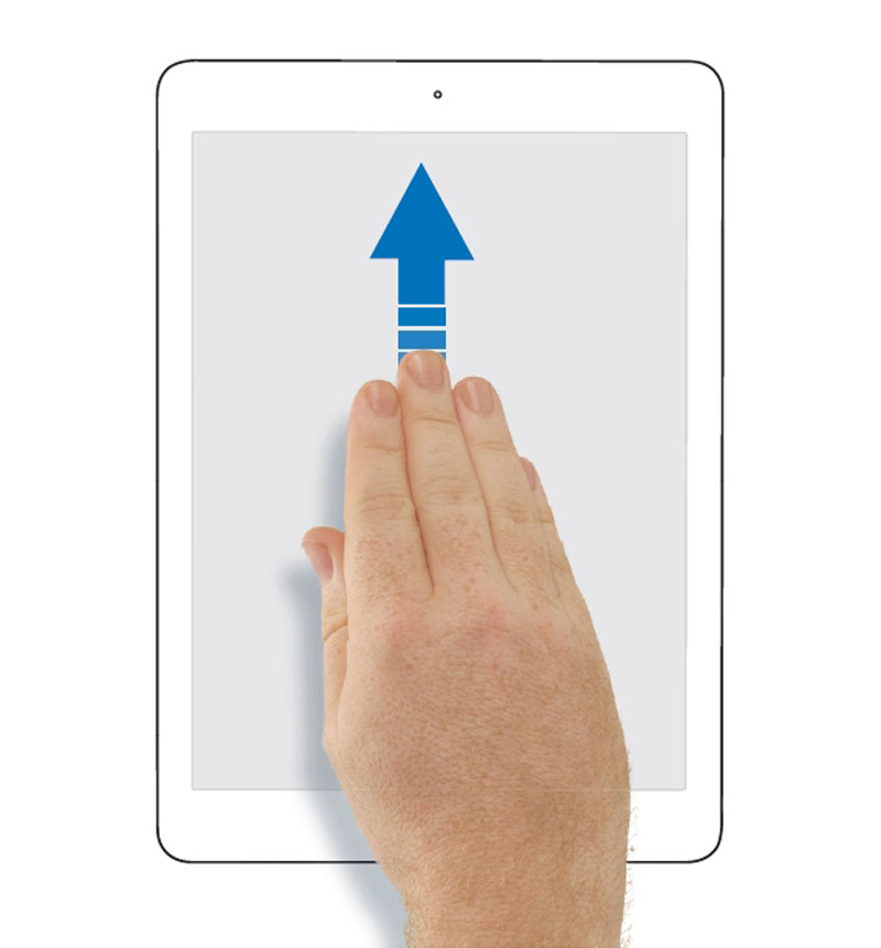 How To Use Ipad Gesture 4 5 Fingers 3
