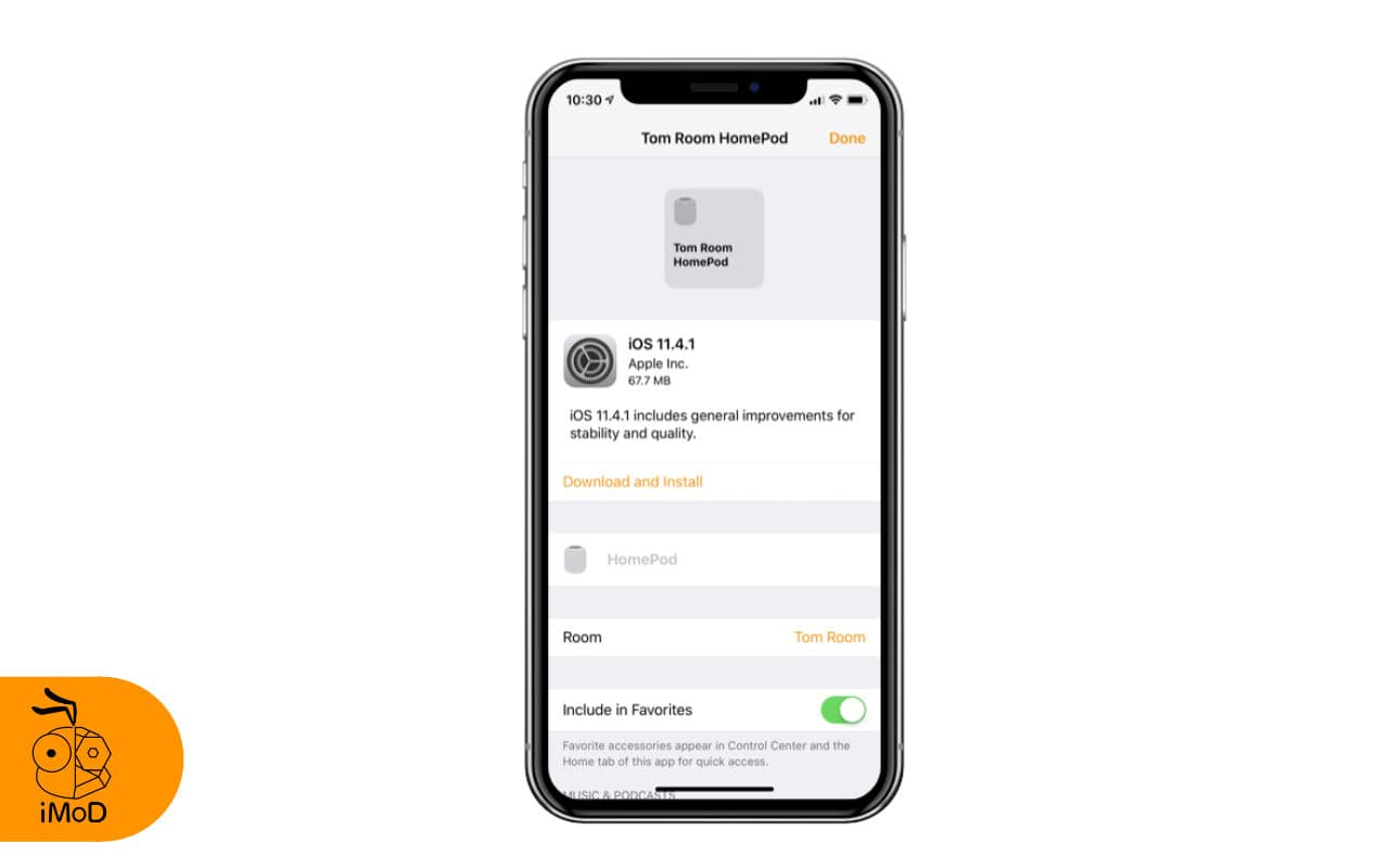 Ios 11.4.1 For Homepod Released