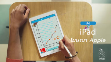 Ipad Over Paper Notebook Ad
