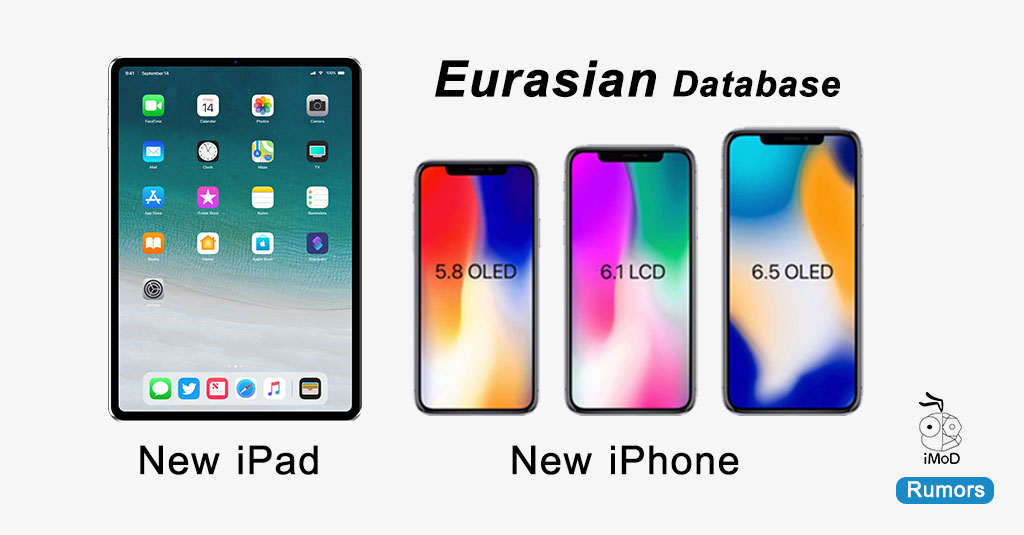 Iphone 2018 More Two Ipad Model Eurasian Database Registered