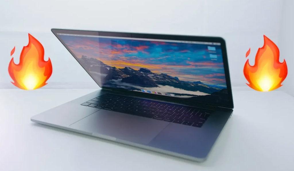 Macbook Pro 2018 Hot