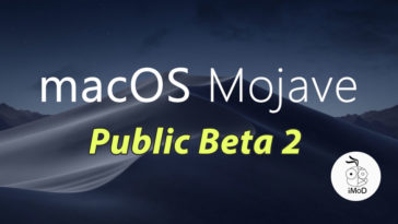 Macos Mojave Public Beta 2