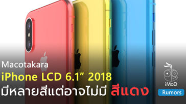Macotakara Iphone Lcd 2018 Color Expect No Red