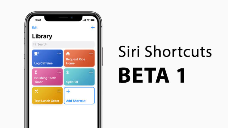 Siri Shortcuts Released For Developer