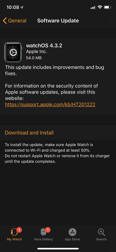 Watchos 4 3 2 Released 1