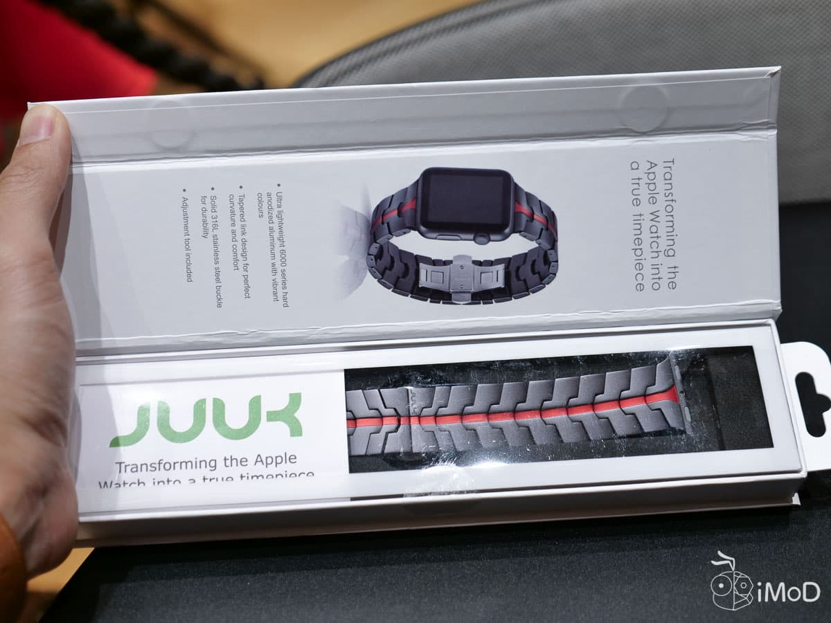 Juuk Design Apple Watch 42mm Brand Review 6