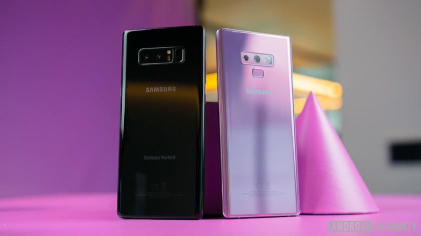 Galaxy Note 9 กับ Galaxy Note 8