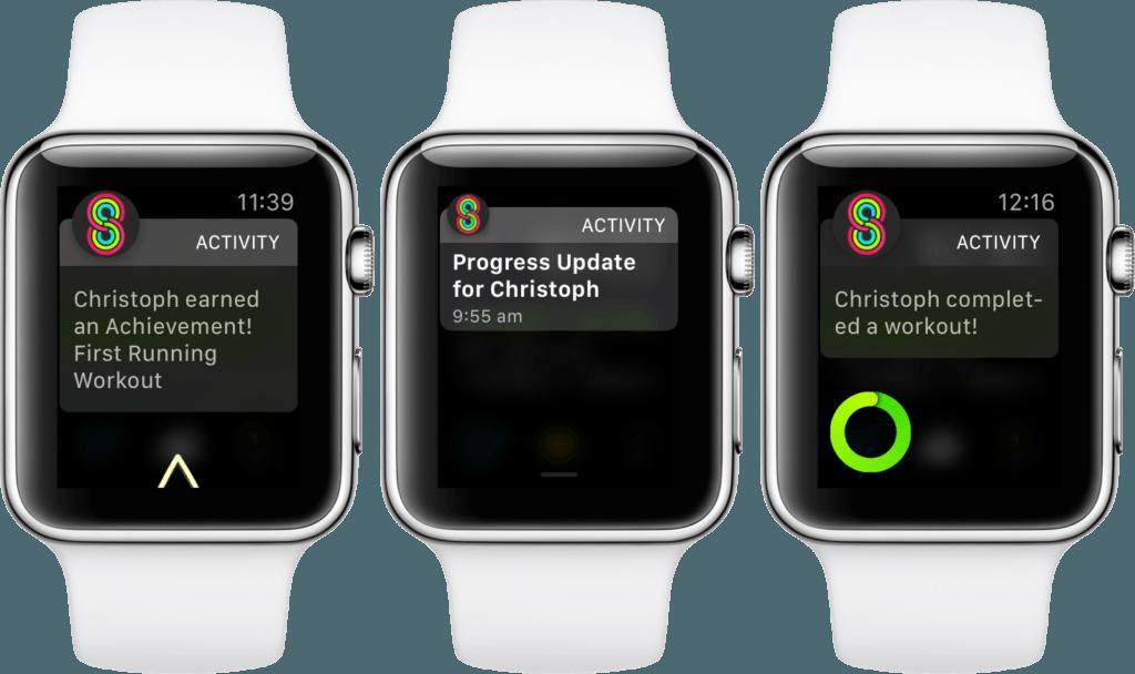 Activity Sharing Reminder Apple Watch