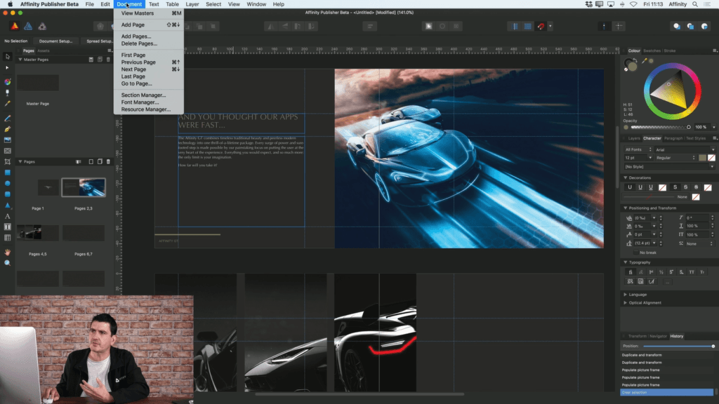 Affinity Publisher Release Beta Test Free 1