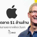 Apple 1 Trillion Market Value Cover