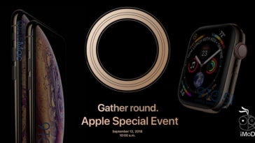 Apple Event 2018 Invitation Card Analysis