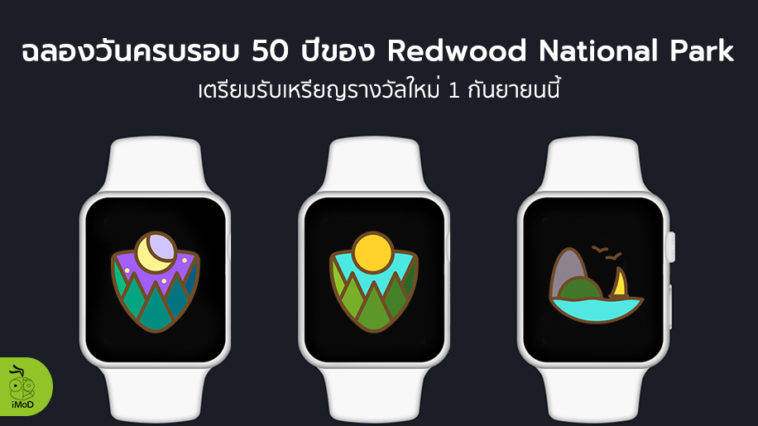 Apple Watch Activity Challenge Redwood National Park Cover