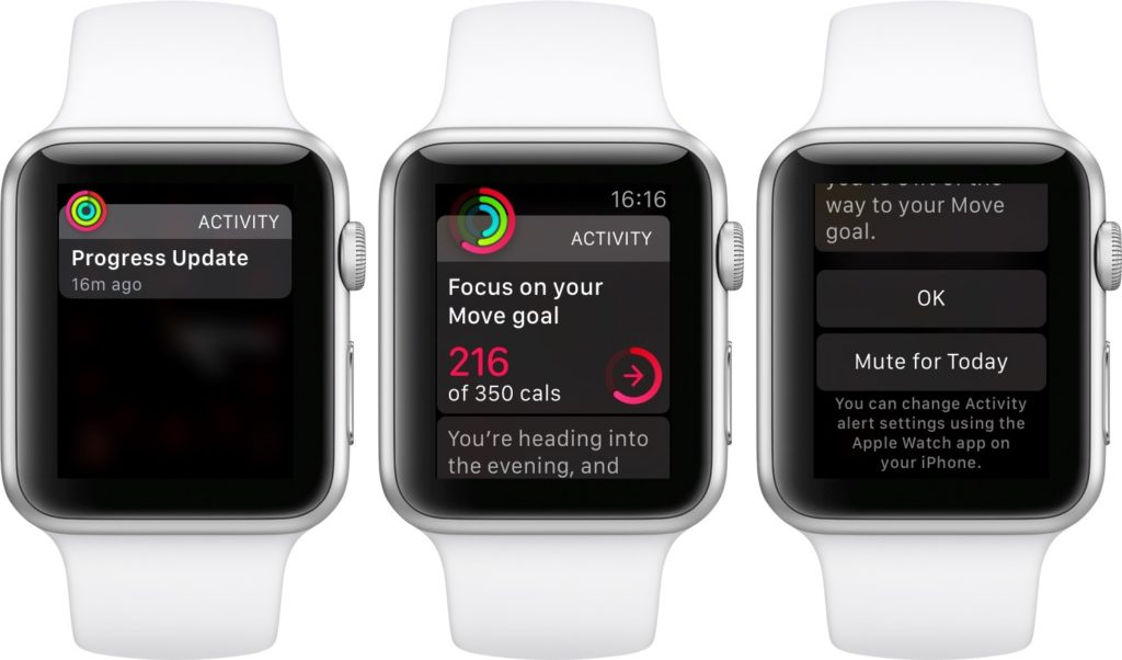 Daily Coching Reminder Apple Watch