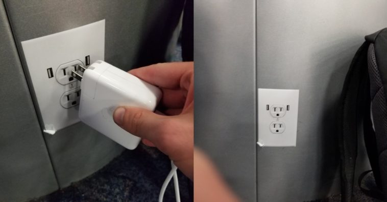 Fake Power Outlet Stickers Cover