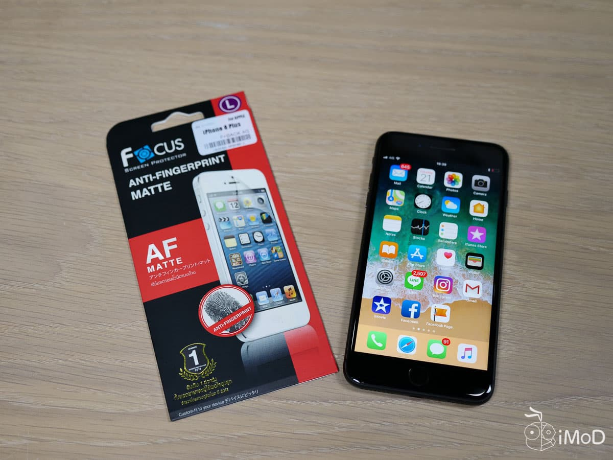 Focus Matte Screen Protector 3