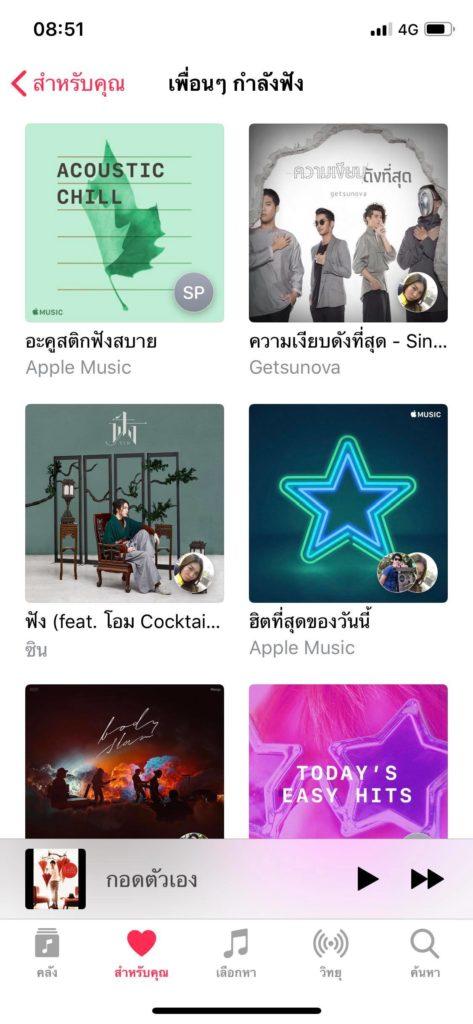 Friend Mix Apple Music 3