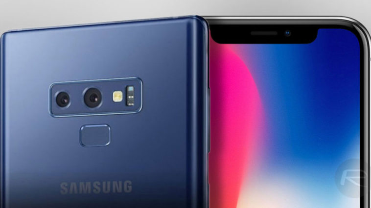Galaxy Note 9 Iphone X Plus Renders Device Size Comapare