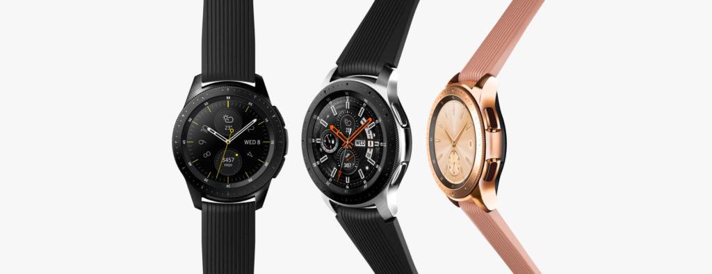 Galaxy Watch Silver Black Rosegold 1
