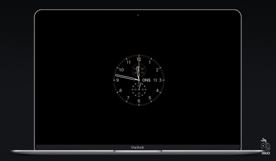 How To Set Screensaver Applewatch Face On Mac 10
