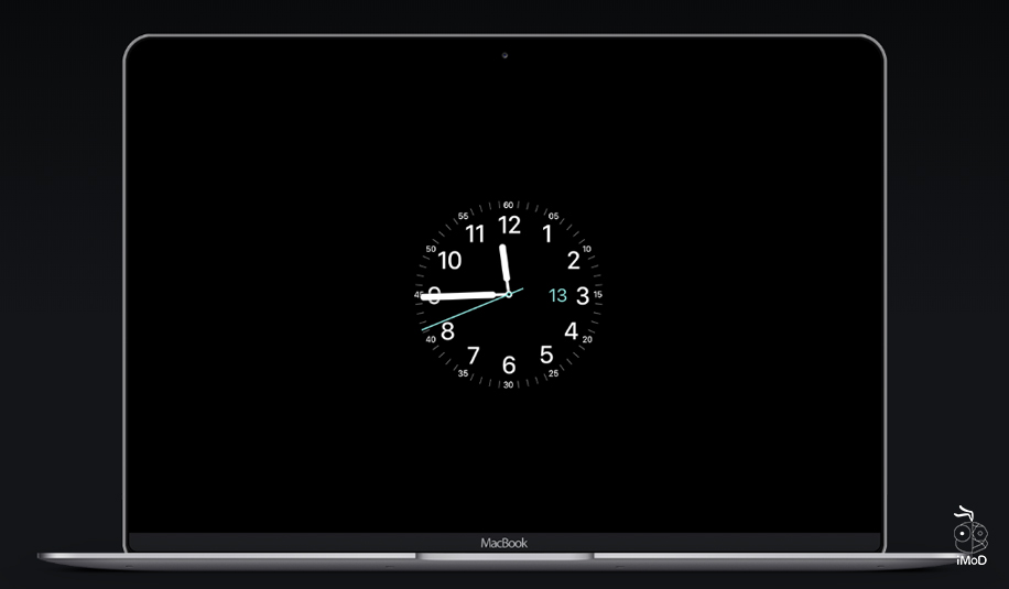 How To Set Screensaver Applewatch Face On Mac 11
