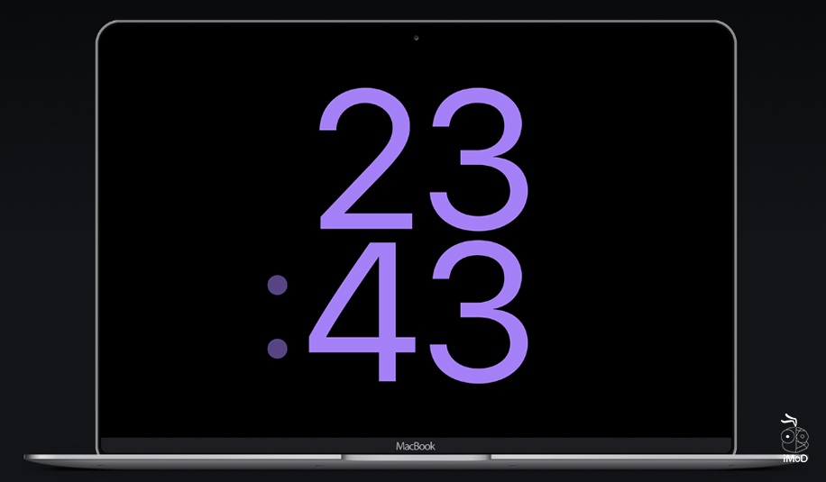 How To Set Screensaver Applewatch Face On Mac 9