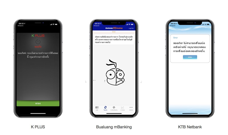 Internet Banking App Down