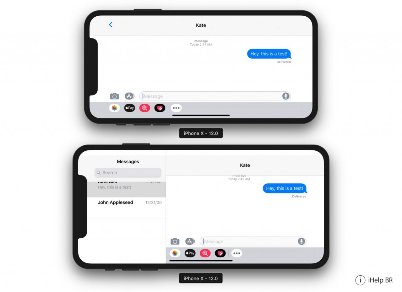 Ios 12 Beta 5 Iphone X Plus Resolution 1242 X 2688 1