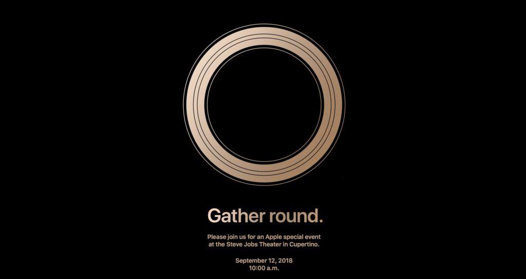 Iphone 2018 Event Invitaion