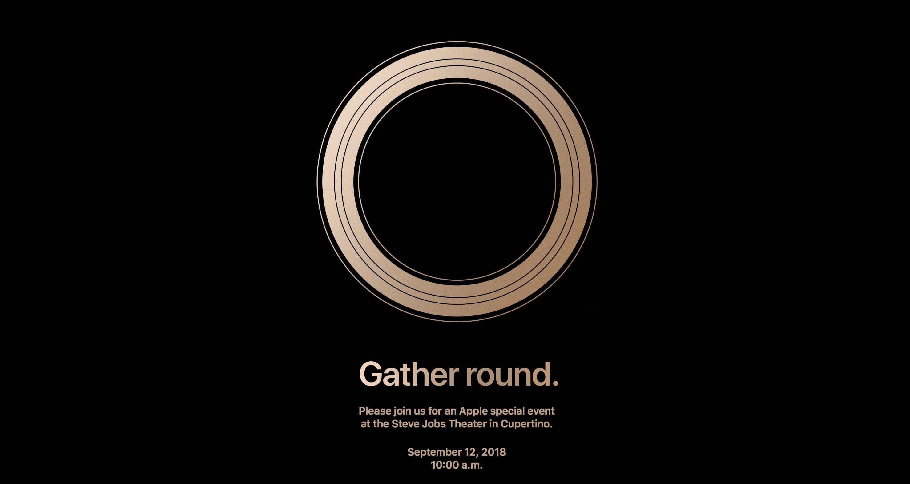 Iphone 2018 Event Invitaion
