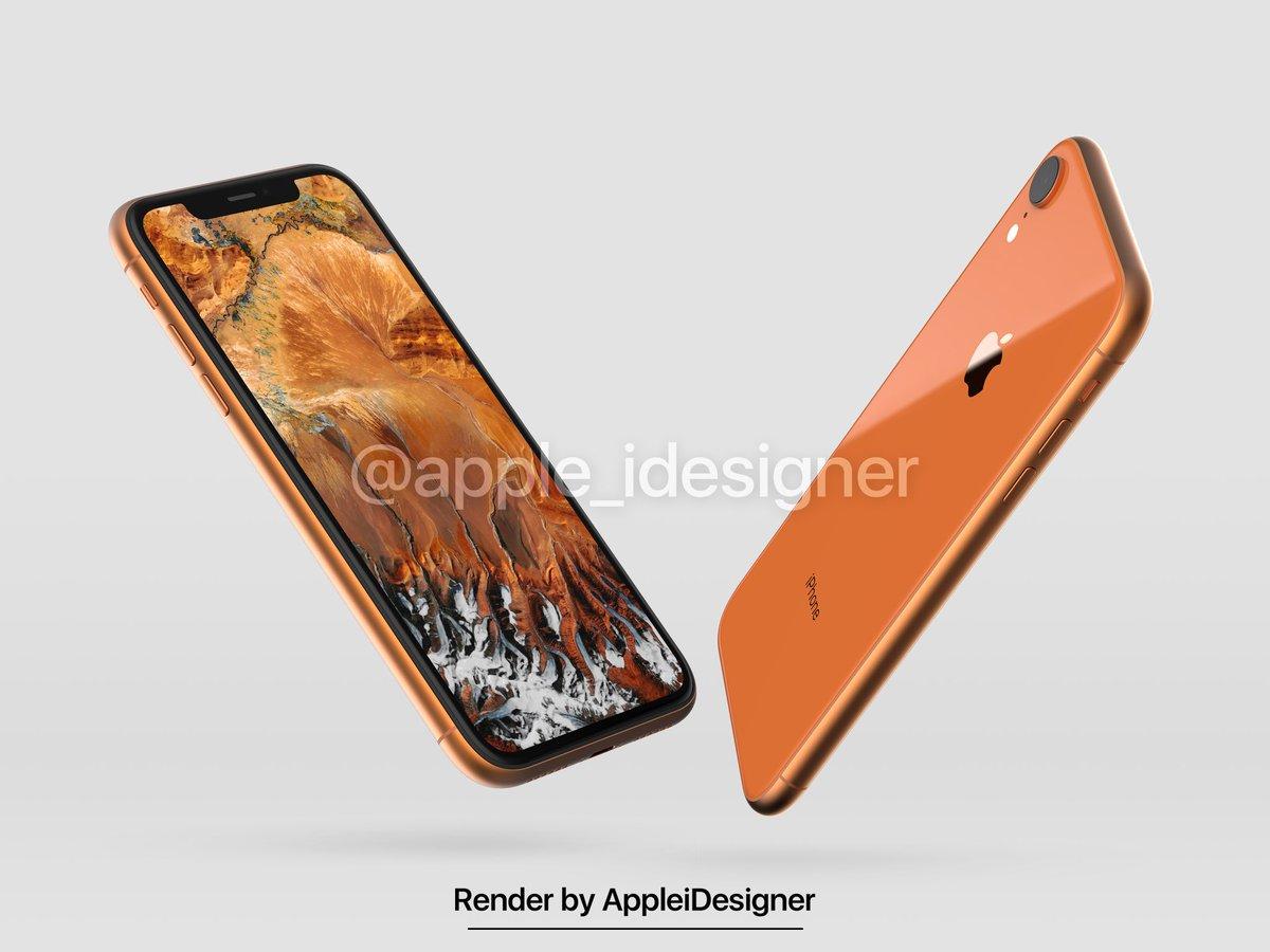 Iphone 2018 Render By Appleidesigner 2