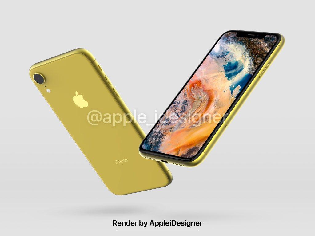 Iphone 2018 Render By Appleidesigner 3