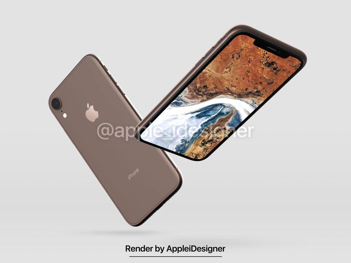 Iphone 2018 Render By Appleidesigner 5