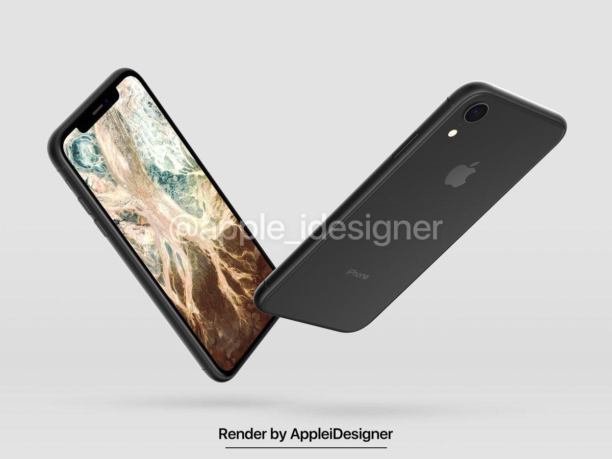 Iphone 2018 Render By Appleidesigner 6