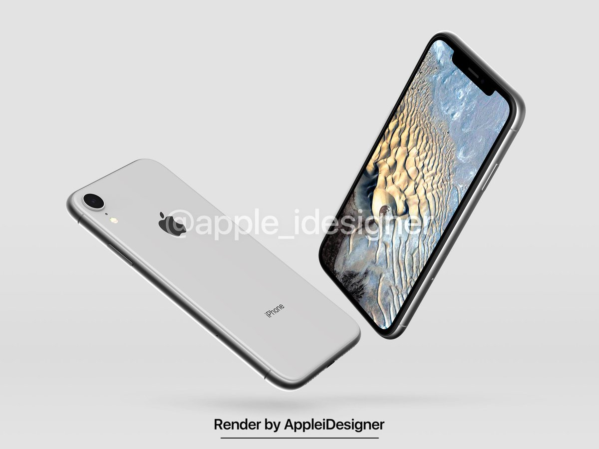 Iphone 2018 Render By Appleidesigner 7