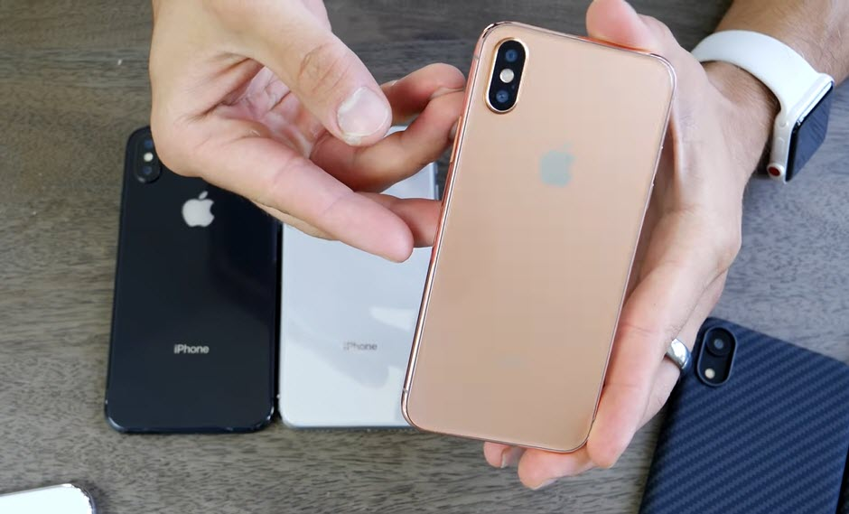 Iphone X 2018 Gold Dummy Model Review 2