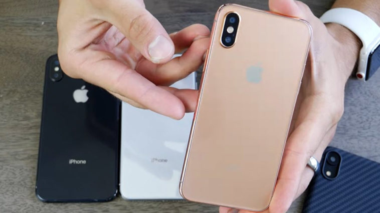 Iphone X 2018 Gold Dummy Model Review
