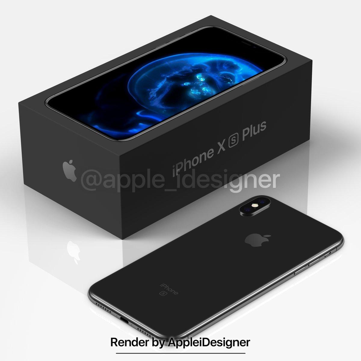 Iphone X Plus Render By Appleidesigner 2