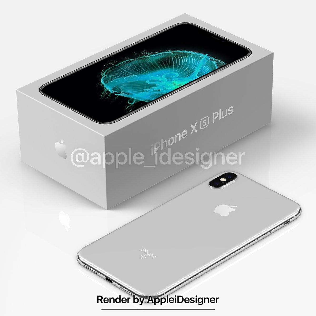 Iphone X Plus Render By Appleidesigner 3