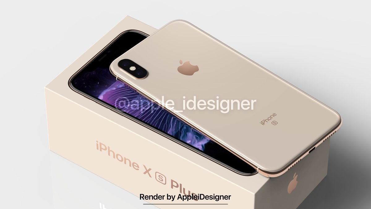 Iphone X Plus Render By Appleidesigner 4
